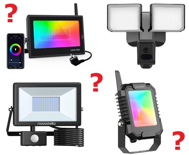 как се избира прожектор