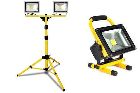 работни прожектори с акумулаторна батерия