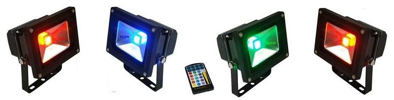 RGB прожектори