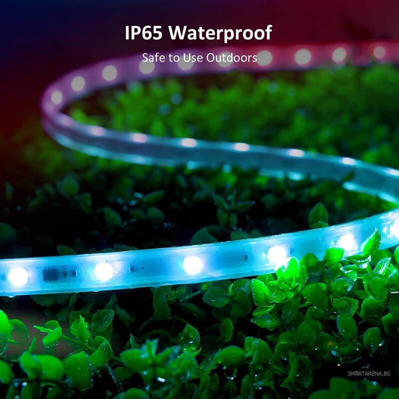 водоустойчива и влагозащитена лед лента ip65