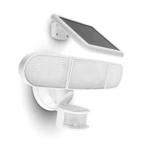 прожектор с 3 глави соларно захранване