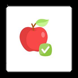 рисунка на ябълка